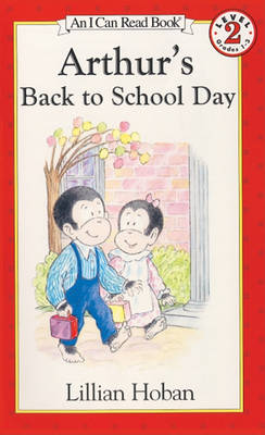 Arthur's Back to School Day book