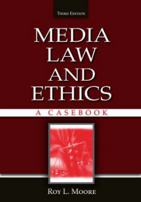 Media Law and Ethics book