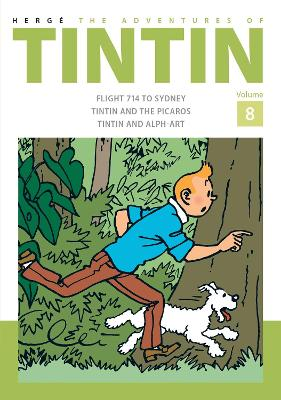 Adventures of Tintin Volume 8 book