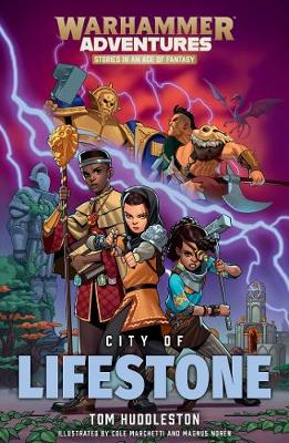 Realm Quest: City of Lifestone by Tom Huddleston