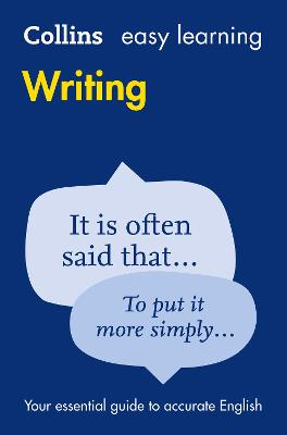 Easy Learning Writing by Collins Dictionaries