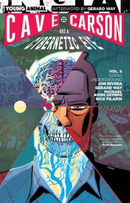 Cave Carson Has a Cybernetic Eye TP Vol 1 Going Underground by Jon Rivera