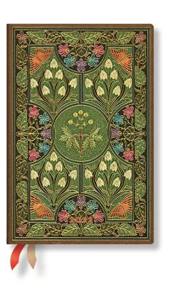 2022 Poetry in Bloom, Mini, (Week at a Time) Verso Diary: Hardcover, Verso Layout, 100 gsm, elastic closure by Paperblanks
