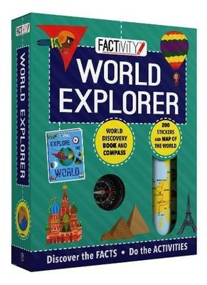 Factivity World Explorer: Discover the Facts, Do the Activities by Parragon Books Ltd