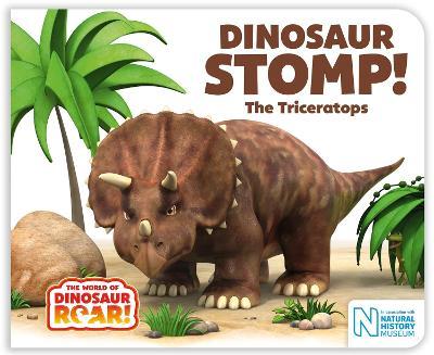 Dinosaur Stomp! The Triceratops book