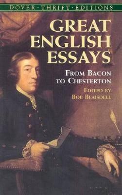 Great English Essays book