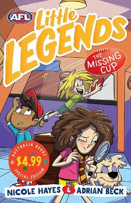 The Missing Cup: AFL Little Legends Australia Reads Special Edition book