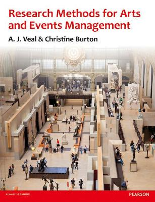 Research Methods for Arts and Event Management book