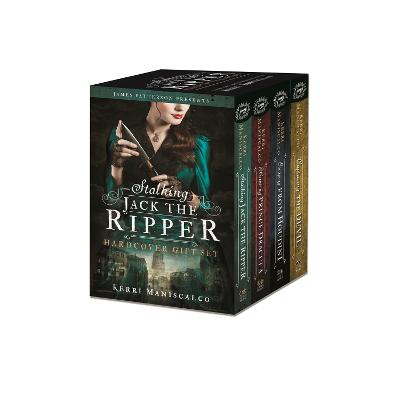 The Stalking Jack the Ripper Series Hardcover Gift Set by Kerri Maniscalco