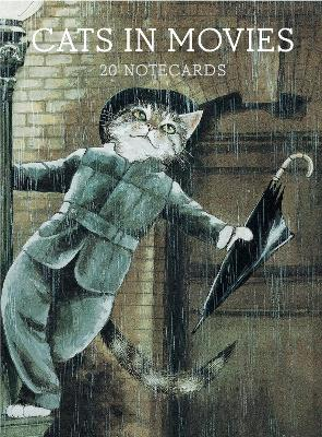 Cats in Movies: Notecards by Susan Herbert
