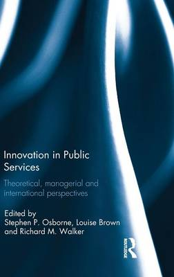 Innovation in Public Services book