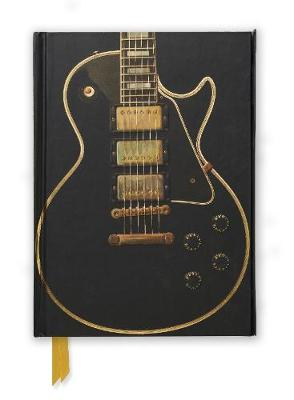 Gibson Les Paul Black Guitar (Foiled Journal) by Flame Tree Studio