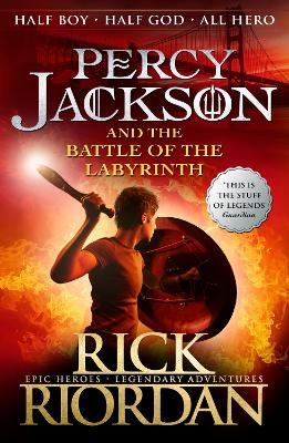 Percy Jackson and the Battle of the Labyrinth (Book 4) by Rick Riordan