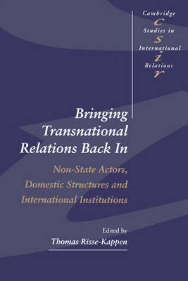 Bringing Transnational Relations Back In by Thomas Risse-Kappen