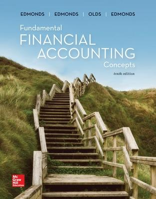 ISE Fundamental Financial Accounting Concepts by Thomas Edmonds