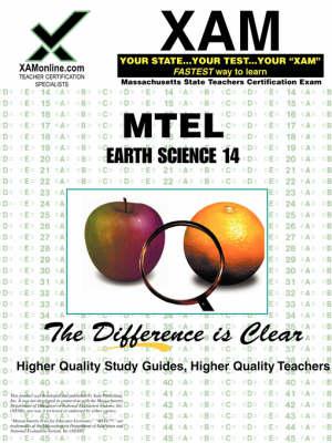 Mtel Earth Science 14 Teacher Certification Test Prep Study Guide by Sharon A Wynne