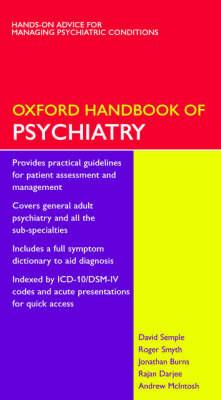 Oxford Handbook of Psychiatry by David Semple