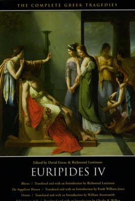 The Complete Greek Tragedies Euripides v.6 by David Grene