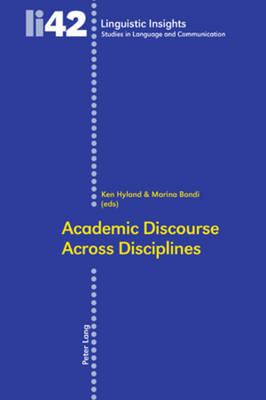 Academic Discourse Across Disciplines by Ken Hyland