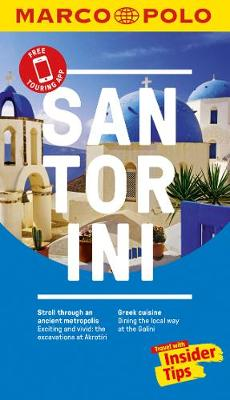 Santorini Marco Polo Pocket Travel Guide 2018 - with pull out map by Marco Polo