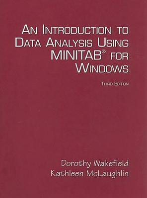 Introduction to Data Analysis Using  Minitab for Windows by Kathleen McLaughlin