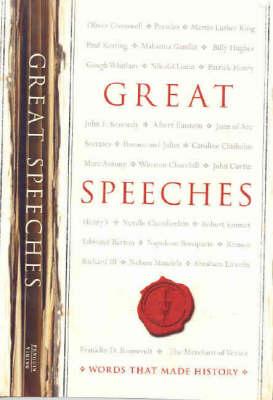 Great Speeches by Penguin Books Australia Ltd