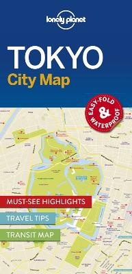 Lonely Planet Tokyo City Map by Lonely Planet