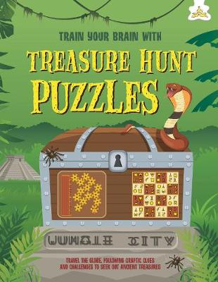 Treasure Hunt Puzzles: Train Your Brain With book