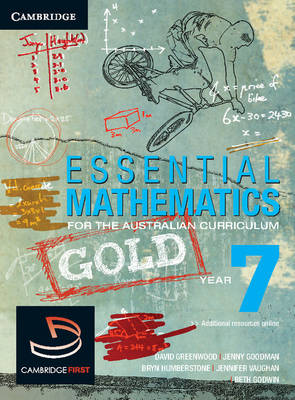 Essential Mathematics Gold for the Australian Curriculum Year 7 by David Greenwood