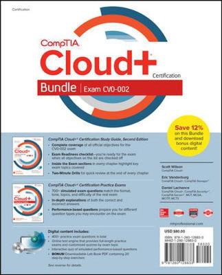 CompTIA Cloud+ Certification Bundle (Exam CV0-002) by Scott Wilson