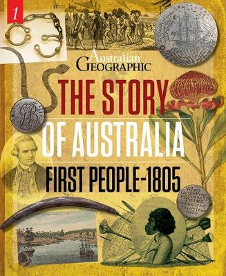 The Story of Australia: First People-1805 book