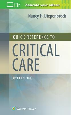 Quick Reference to Critical Care book