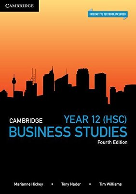 Cambridge HSC Business Studies book