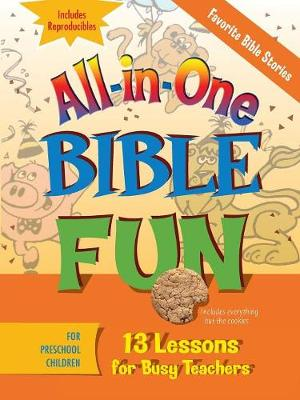 All-in-one Bible Fun Preschool by Abingdon Press