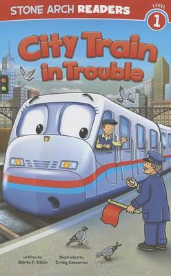 City Train in Trouble by Adria F Klein