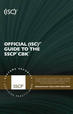 Official (ISC)2 Guide to the SSCP CBK by Harold F. Tipton