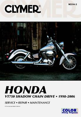 Honda VT750 Shadow Chain Drive 1998-2006 by James Grooms