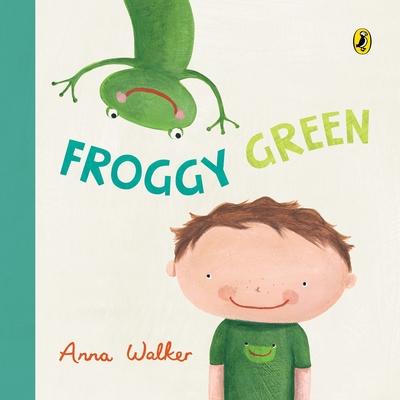 Froggy Green by Anna Walker
