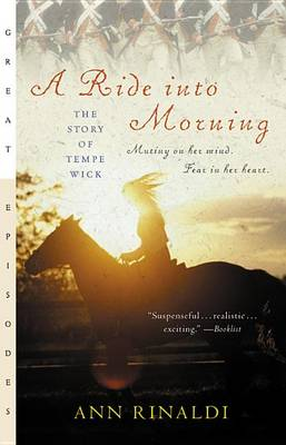 A Ride Into Morning by Ann Rinaldi