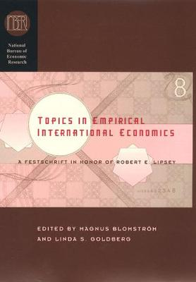 Topics in Empirical International Economics book