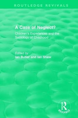 Case of Neglect? (1996) book