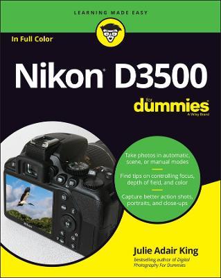Nikon D3500 For Dummies book