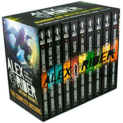 Alex Rider 10 Book Collection by null
