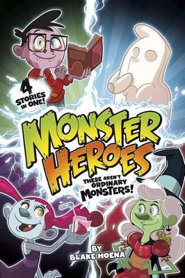 Monster Heroes book
