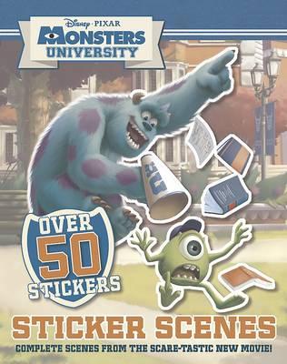 Disney Monsters University Sticker Scene by Parragon Books Ltd