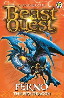 Beast Quest: Ferno the Fire Dragon by Adam Blade