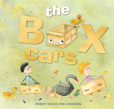 The Box Cars by Robert Vescio