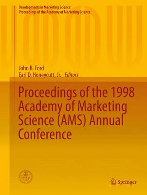 Proceedings of the 1998 Academy of Marketing Science (AMS) Annual Conference by John B. Ford