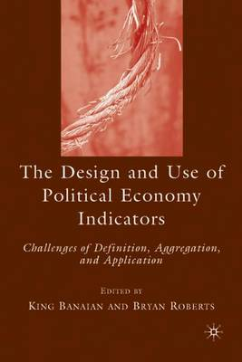 Design and Use of Political Economy Indicators book