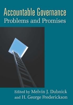 Accountable Governance by Melvin J. Dubnick